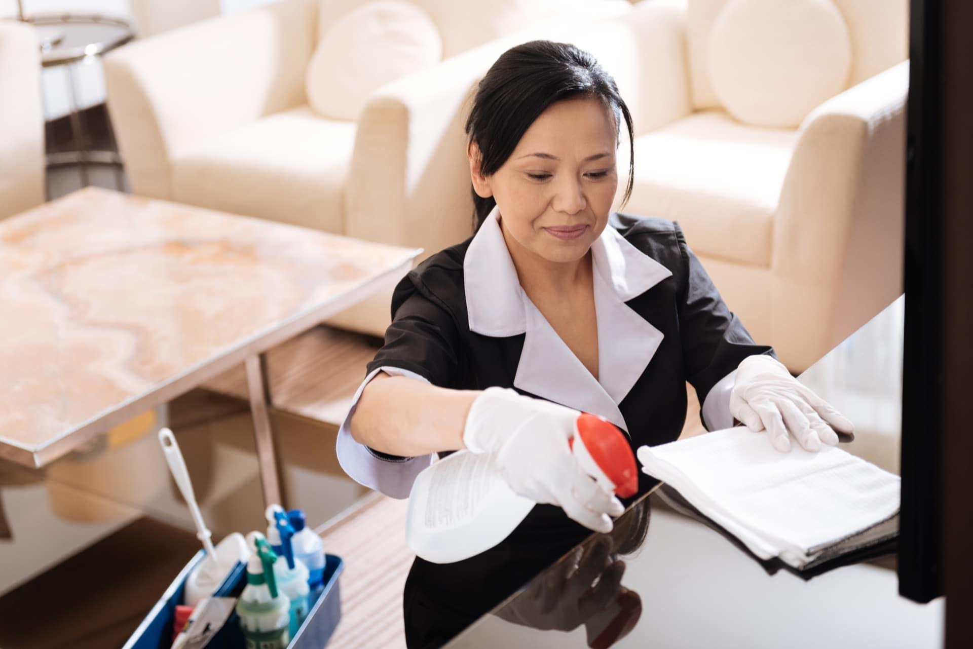 Public Area Cleaning - Die frei zugänglichen Flächen eines Hotels bestimmen die Wahrnehmung sowie Reputation und Image. - Public Area Cleaning - Angebot anfragen!
